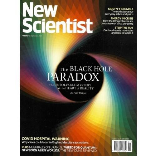 New Scientist Magazine - 25th September 2021