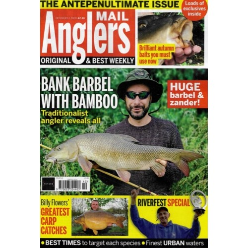 Anglers Mail - 13th October 2020