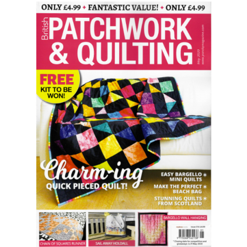 British Patchwork & Quilting - May 2020 - issue 316