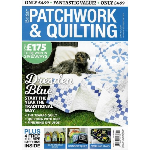 British Patchwork & Quilting - January 2020 - issue 312