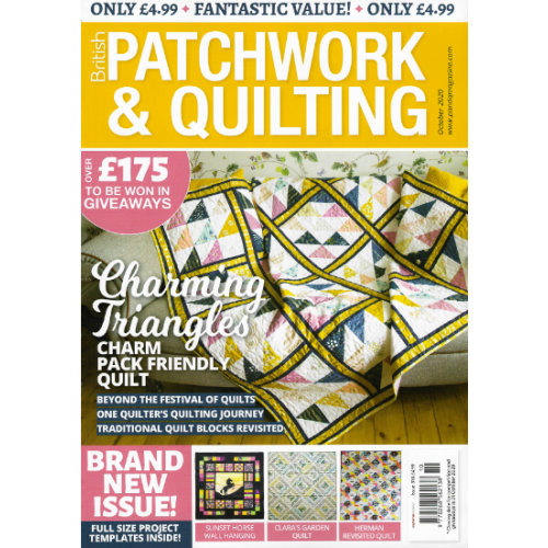 British Patchwork & Quilting - October 2020