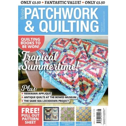 British Patchwork & Quilting - August 2021