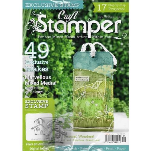 Craft Stamper - April 2020