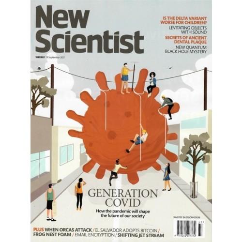 New Scientist Magazine - 18th September 2021