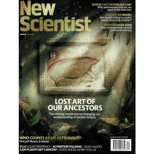 New Scientist Magazine - 31st July 2021