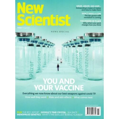 New Scientist Magazine - 14th August 2021