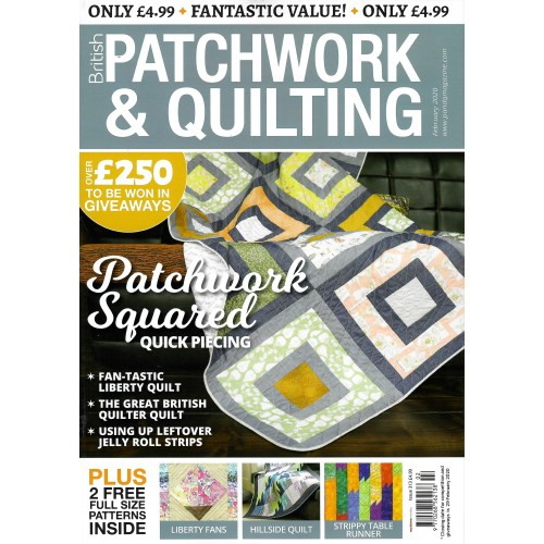 British Patchwork & Quilting - February 2020 - issue 313