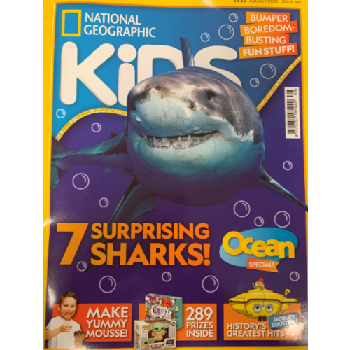 National Geographic Kids - August 2020 -180